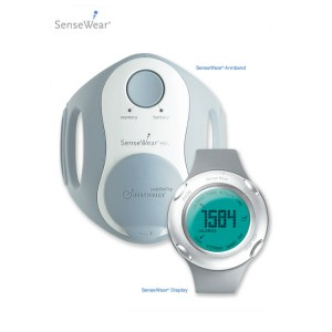 Holter metabolico sensewear armband BMS